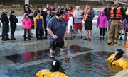 Camp Chill:  Bishop's Ough takes the plunge to raise $10,000 for camp scholarships!
